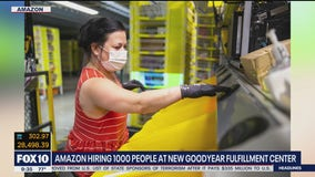 Amazon hiring 1,000 people at new Goodyear fulfillment center