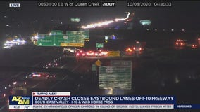 I-10 EB closed at Wild Horse Pass after fatal crash