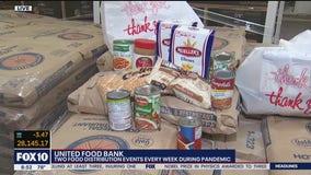 United Food Bank prepares for food distribution events