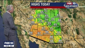 Noon Weather Forecast - 10/30/20