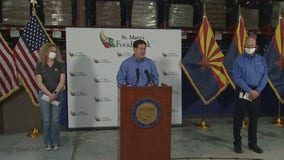 Gov. Ducey holds news conference on coronavirus in Arizona
