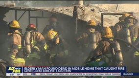 Elderly man found dead in Laveen mobile home fire