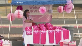 Breast cancer survivors drive through Phoenix metro area to raise awareness