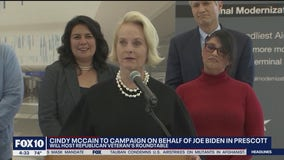 Cindy McCain to campaign on behalf of Joe Biden in Prescott