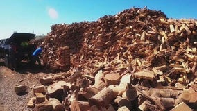 Arizona firewood business sees more customers as weather cools