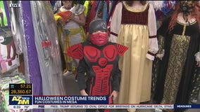 Checking out the latest Halloween costume trends