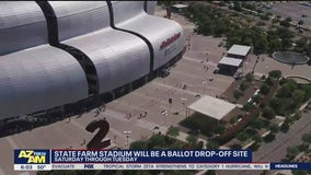 State Farm Stadium now a ballot drop-off site