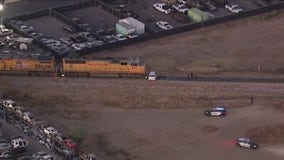 Gilbert Police: 1 dead following crash involving train