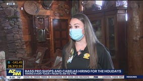 Bass Pro Shops, Cabelas hiring for the holidays