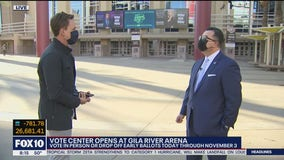 Voting center opens at Gila River Arena