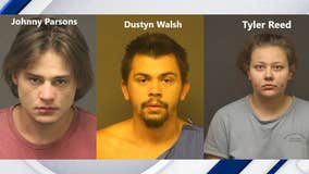 Sheriff's office: 3 arrested in 2 killings in Mohave County