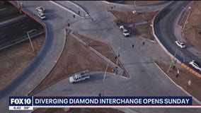 I-17 at Happy Valley Road closing for new diverging diamond interchange