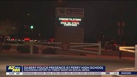 Increased police presence at Perry High School due to social media threat