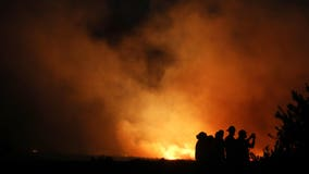 Southern California wildfires: Wind-driven blazes force thousands to flee