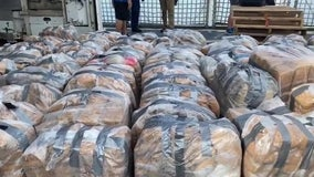 Coast Guard offloads nearly $86 million in cocaine, other narcotics in South Florida