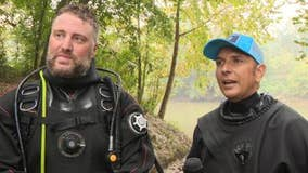 Scuba divers driving across the U.S. to help families find their missing loved ones