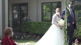 Couple gets married at grandmother's nursing home just so she could attend