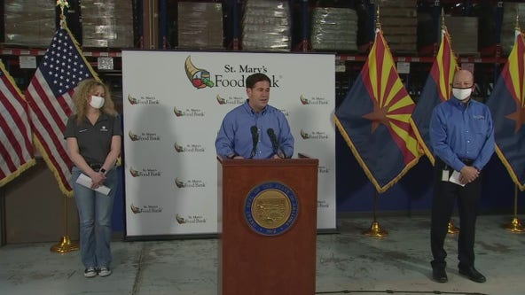 News conference: Arizona Gov. Doug Ducey holds COVID-19 briefing