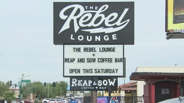 Rebel Lounge in Phoenix gets creative to reopen during coronavirus pandemic
