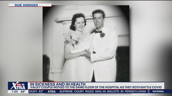 Couple moved to same floor of hospital as both battle coronavirus