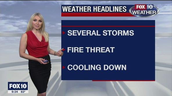 Evening Weather Forecast - 10/19/20