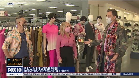 Pink styles for men for Breast Cancer Awareness Month