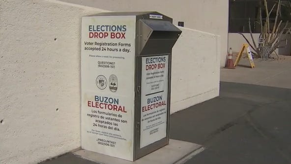 More drive-thru ballot drop-off locations open in Maricopa County