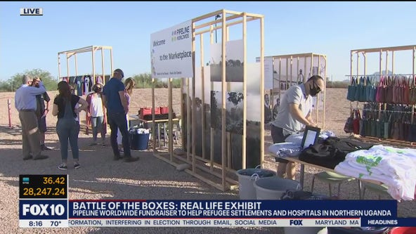 Battle of the Boxes: Scottsdale fundraiser benefits communities in Uganda