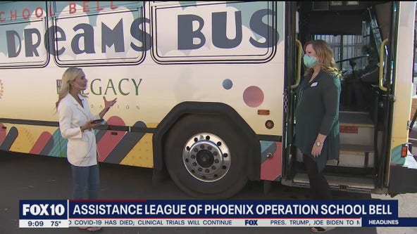 Phoenix nonprofit provides low-income students with clothing, essential supplies