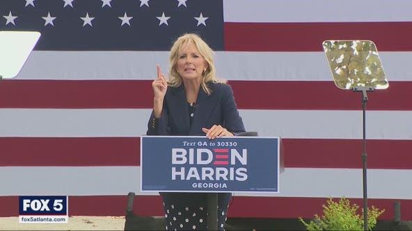 Dr. Jill Biden campaigns in Georgia