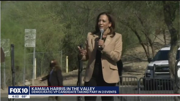 Kamala Harris visits Arizona for campaign events