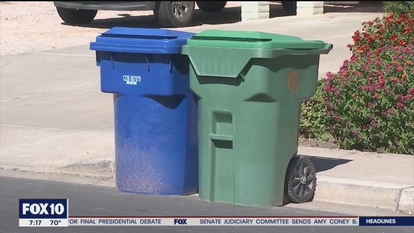 Mesa makes changes to their recycling program