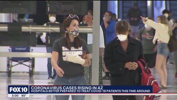 Health expert talks about coronavirus pandemic as Arizona sees surge in cases