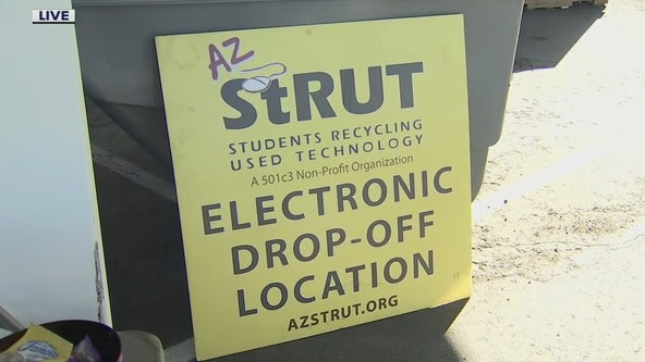 Phoenix company accepting electronic waste donations to refurbish for schools