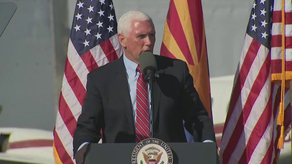 VP Pence speaks at presidential campaign rally in Tucson