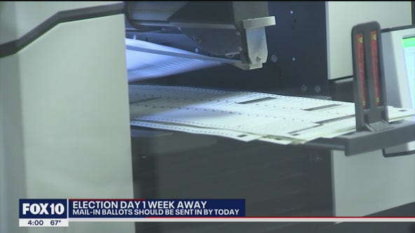 Over 1m Maricopa County voters have voted early