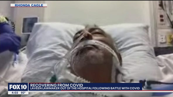 Arizona lawmaker speaks out following tough coronavirus battle