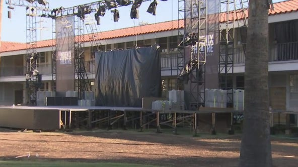 Outdoor stage is set for Phoenix Theater Company to hold outdoor performances amid pandemic