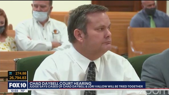 Judge rules for Lori Vallow, Chad Daybell cases to be tried together