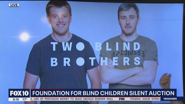 Foundation for Blind Children holds virtual silent auction