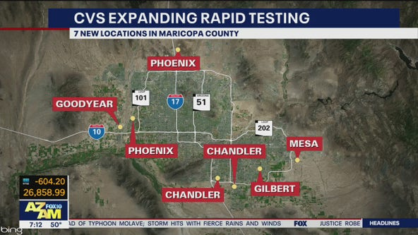 CVS expands rapid testing for coronavirus in the Valley