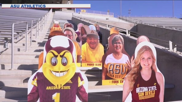 ASU offering fans a chance to show their presence during games without actually being there