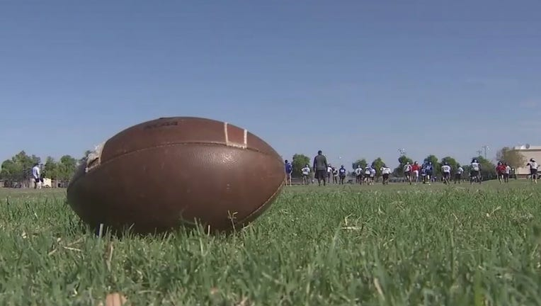 Two high school districts have to wait another month to play football.