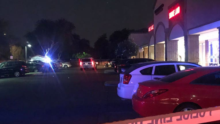 Shooting investigation at 16th Street and Baseline Road in Phoenix on Oct. 19