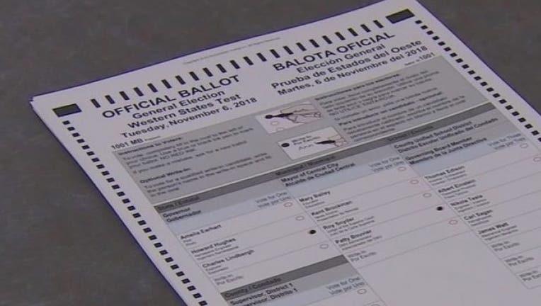 western states test ballot