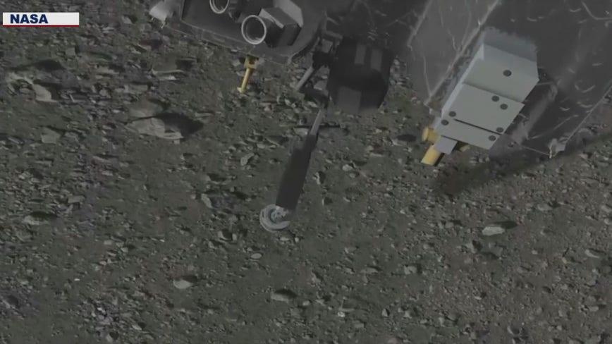 NASA makes history as spacecraft touches down on Bennu asteroid