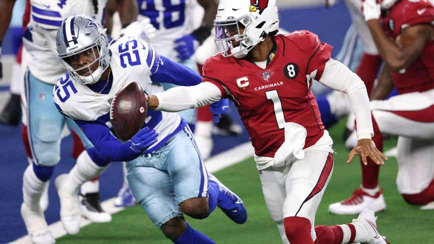 Murray leads Cardinals to 38-10 win over struggling Dallas Cowboys