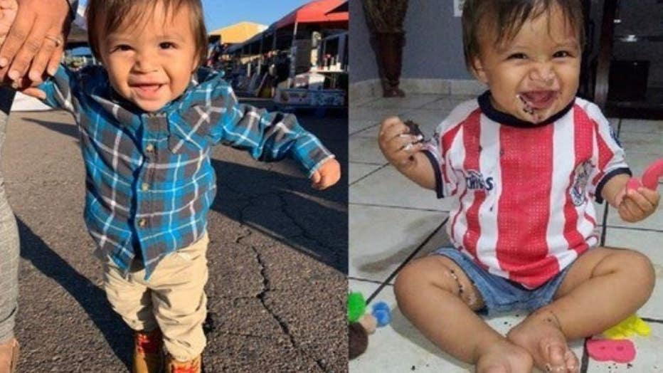 Sebastian Duran, 1, died after a shooting in Mesa, Arizona on Oct. 16. He succumbed to his injuries on Oct. 18.