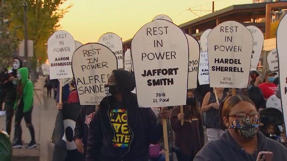 protest stpaul