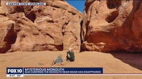 Visitors report mysterious Utah monolith's disappearance